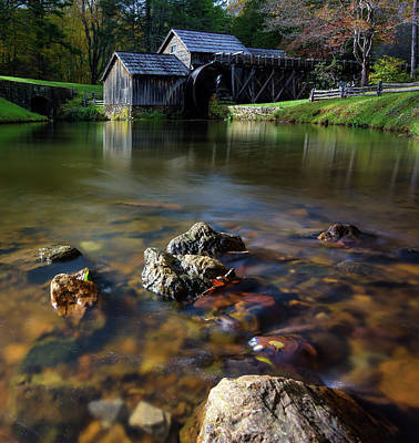 Photograph - Ducks View Of Mabry Mill by Steve Hurt