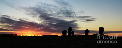 Neolithic Photograph - Duddo Five Stones by Tim Gainey