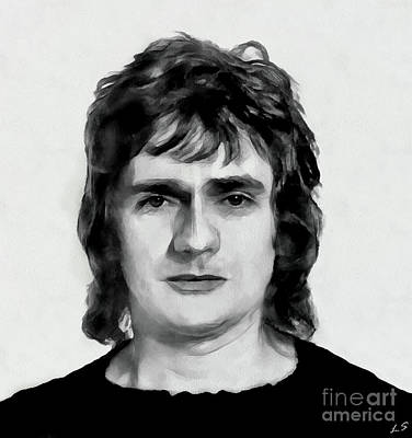 Drawing - Dudley Moore by Sergey Lukashin