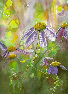 Painting - Due Today Z - Dew To Daisy by Lynn Babineau