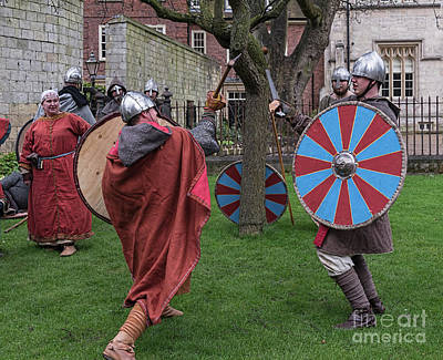Photograph - Dueling by David  Hollingworth