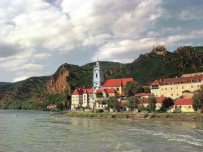 Photograph - Duernstein In The Wachau by Menega Sabidussi