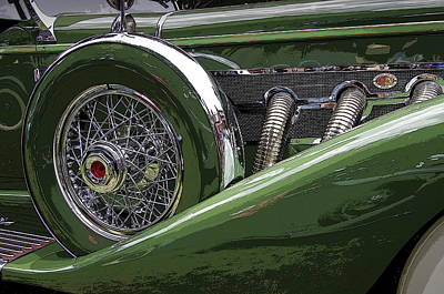 Photograph - Duesenberg by Jim Mathis