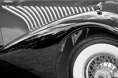 Photograph - Duesenberg Monotone by Dennis Hedberg