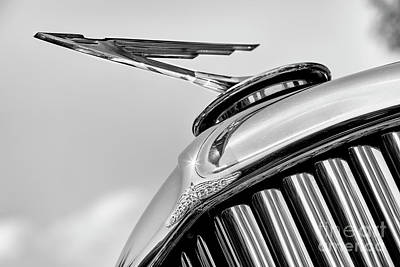Photograph - Duesenberg Ornament Mono by Dennis Hedberg