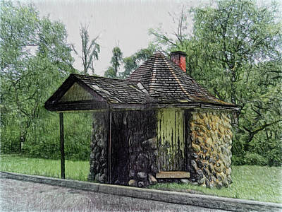 Photograph - Dufferin Gate House by Leslie Montgomery