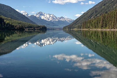 Photograph - Duffey Lake by Eunice Gibb