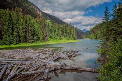 Photograph - Duffey Lake by Jacqui Boonstra