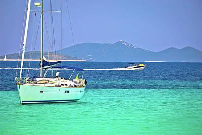 Photograph - Dugi Otok Island Pahthera Bay Sailing And Yachting Destinaion by Brch Photography
