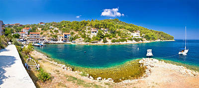 Photograph - Dugi Otok Island Village Summer View by Brch Photography