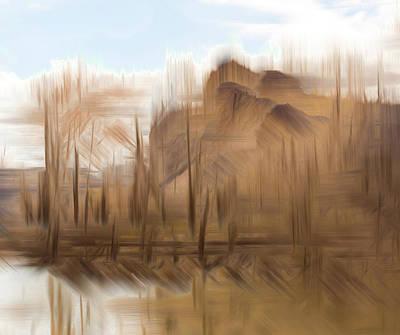Photograph - Dugout Pond by Deborah Hughes