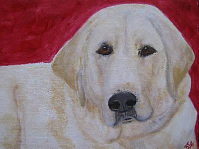 Painting - Duke by Barbara Giordano