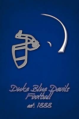 Duke Blue Devils Art Print by Joe Hamilton