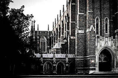 Beverly Brown Fashion Rights Managed Images - Duke Chapel Royalty-Free Image by Anthony Doudt