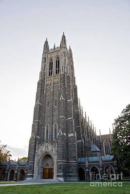 Photograph - Duke Chapel by Jill Lang