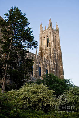 Duke Chapel Side View Art Print