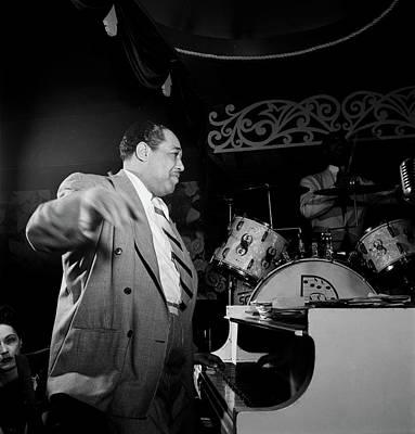 Photograph - Duke Ellington - 1940s by William Gottlieb