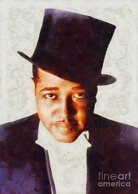 Music Royalty-Free and Rights-Managed Images - Duke Ellington, Musical Legend by Esoterica Art Agency