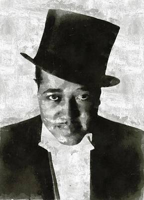 Musicians Royalty Free Images - Duke Ellington, Musician Royalty-Free Image by Esoterica Art Agency