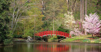 Photograph - Duke Japanese Garden by Joni Eskridge
