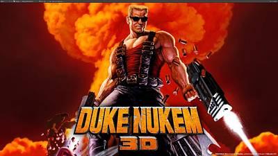 University Digital Art - Duke Nukem 3d by Maye Loeser