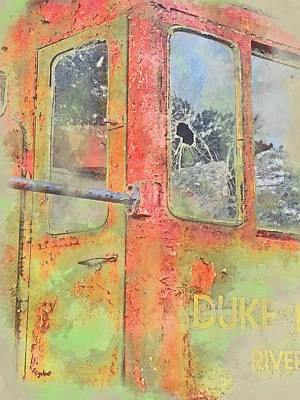 Digital Art - Duke Rust by Paulette B Wright