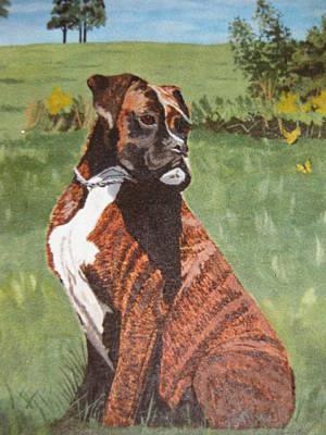 Painting - Duke by Stella Sherman