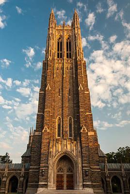 Photograph - Duke University Chapel by Gene Hilton