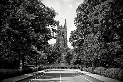 Photograph - Duke University Chapel by Jessica Brawley
