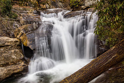 Photograph - Dukes Creek Falls by Michael Sussman