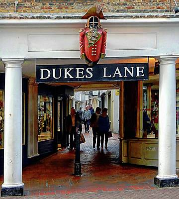 Photograph - Dukes Lane Entrance Brighton by Dorothy Berry-Lound