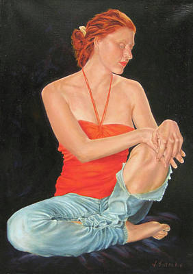 Painting - Dulcinea by John Entrekin
