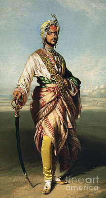 Princes Painting - Duleep Singh, Maharajah Of Lahore by Franz Xaver Winterhalter