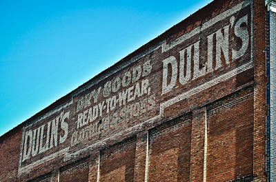 Photograph - Dulin's Dry Goods by Greg Jackson