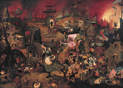 Painting - Dulle Griet by Pieter Bruegel the Elder