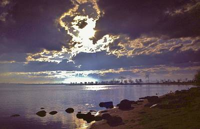 Lake Superior Art Gallery Photograph - Duluth Harbor Bay   Park Point by Rory Cubel