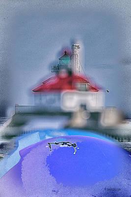 Photograph - Duluth Harbor Entrance.... by Paul Vitko