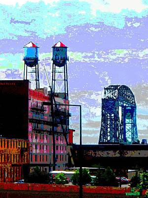 Duluth Skyline Art Print by Rashelle Brown