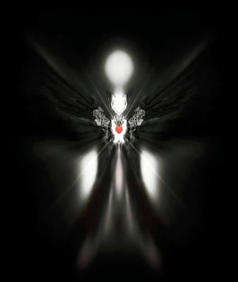 Blue Healer Digital Art - Dumah by Raymel Garcia