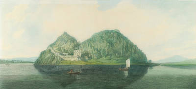 Painting - Dumbarton Rock From The South by Joseph Farington