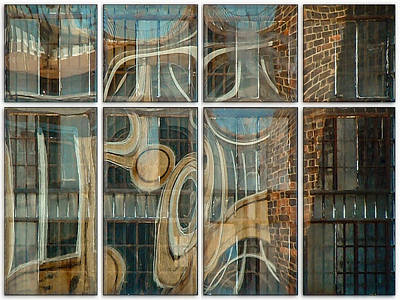 Photograph - Dumbo Windows by Stan  Magnan