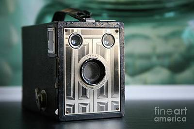 Photograph - D'un Autre Temps...vintage Art Deco Brownie  by Lynn England