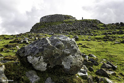 Photograph - Dun Beag Broch by Fran Gallogly