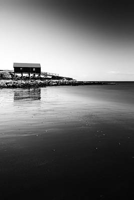 Photograph - Dunaverty Boathouse by Grant Glendinning