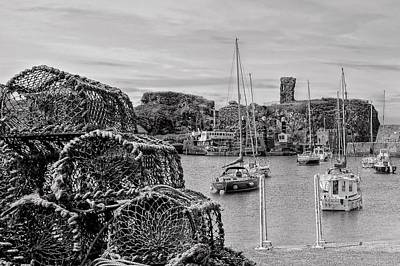 Photograph - Dunbar Harbour by Jeremy Lavender Photography