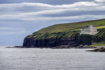 Photograph - Dunbeath Castle by Jeremy Lavender Photography
