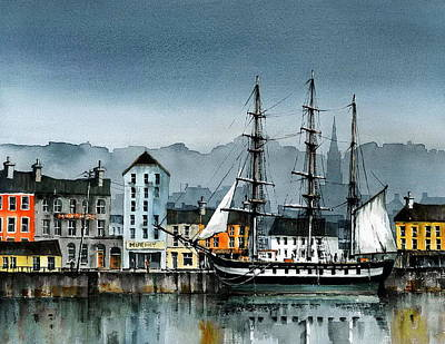 Painting - Dunbrody In New Ross by Val Byrne