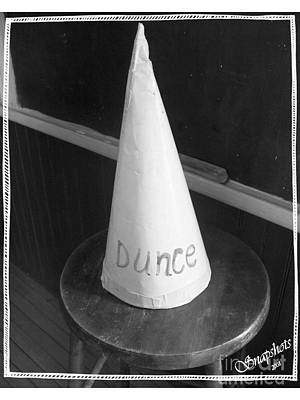 Dunce Cap Photograph - Dunce Cap by Emily Kelley