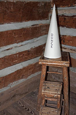 Dunce Cap Photograph - Dunce Cap by Ginger Harris