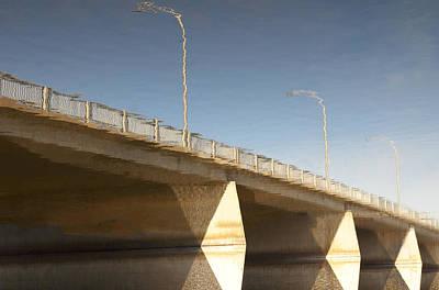 Photograph - Dundas Street Auto Bridge  by Michael Rutland